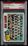Baseball Cards:Singles (1970-Now), 1977 Topps White Sox Team #418 PSA Gem Mint 10 - Pop Three. ...