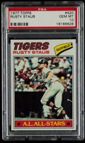 Baseball Cards:Singles (1970-Now), 1977 Topps Rusty Staub #420 PSA Gem Mint 10....