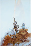 Memorabilia:Poster, Michael Whelan Sea of Fate Elric Poster (Black Lotus,1979)....