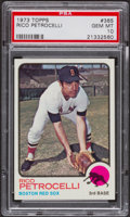 Baseball Cards:Singles (1970-Now), 1973 Topps Rico Petrocelli #365 PSA Gem Mint 10....