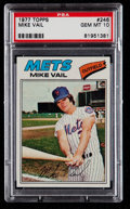 Baseball Cards:Singles (1970-Now), 1977 Topps Mike Vail #246 PSA Gem Mint 10....