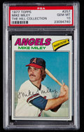 Baseball Cards:Singles (1970-Now), 1977 Topps Mike Miley #257 PSA Gem Mint 10 - Pop Two. ...