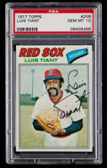Baseball Cards:Singles (1970-Now), 1977 Topps Luis Tiant #258 PSA Gem Mint 10....