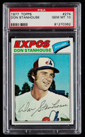 Baseball Cards:Singles (1970-Now), 1977 Topps Don Stanhouse #274 PSA Gem Mint 10....