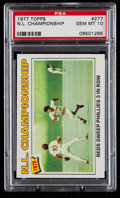 Baseball Cards:Singles (1970-Now), 1977 Topps Pete Rose N.L. Championship #277 PSA Gem Mint 10....