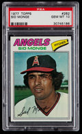 Baseball Cards:Singles (1970-Now), 1977 Topps Sid Monge #282 PSA Gem Mint 10....