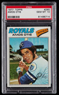 Baseball Cards:Singles (1970-Now), 1977 Topps Amos Otis #290 PSA Gem Mint 10....