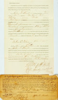 Miscellaneous:Ephemera, [1864 Presidential Election]. Soldier's Power of Attorney andAffidavit....