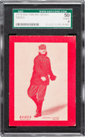 Baseball Cards:Singles (Pre-1930), 1914 Baltimore News George Suggs SGC 50 VG/EX 4. ...