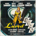 "Movie Posters:Mystery, Lured (United Artists, 1947). Six Sheet (79"" X 80""). Mystery.. ..."