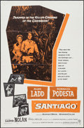 "Movie Posters:Adventure, Santiago (Warner Brothers, 1956). One Sheet (27"" X 41"").Adventure.. ..."