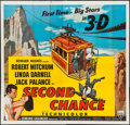 """Movie Posters:Thriller, Second Chance (RKO, 1953). Six Sheet (78"""" X 80"""") 3-D Style. Thriller.. ..."""