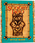 Memorabilia:Comic-Related, Scooby Doo! Consumer Products Style Guide (Warner Brothers,2002) Condition: NM-....