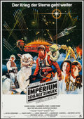 "Movie Posters:Science Fiction, The Empire Strikes Back (20th Century Fox, 1980). German A1 (23.25""X 33""). Science Fiction.. ..."