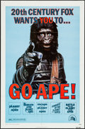 "Movie Posters:Science Fiction, Go Ape! (20th Century Fox, R-1974). One Sheet (27"" X 41""). ScienceFiction.. ..."