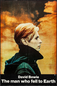 "The Man Who Fell to Earth (Cinema 5, 1976). One Sheet (27"" X 41"") & Promo (11.5"" X 16""). Sci..."