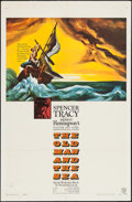 "Movie Posters:Adventure, The Old Man and the Sea (Warner Brothers, 1958). One Sheet (27"" X41""). Adventure.. ..."