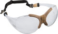 Basketball Collectibles:Others, 1980's Kareem Abdul Jabbar Game Worn Goggles - From Family of SandyGrossman. ...