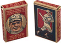 Baseball Cards:Unopened Packs/Display Boxes, 1921 Schapira Bros. Candy Babe Ruth Portrait Complete Box. ...