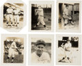 Baseball Collectibles:Photos, 1924/25 National Photo Washington Senators Team Pictures (23) WithWalter Johnson - The First Team Photo Pack? ...