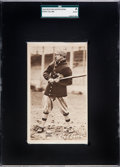 Baseball Cards:Singles (Pre-1930), 1914 H813-3 Boston Garter Eddie Collins - The Only Graded Example. ...