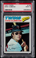Baseball Cards:Singles (1970-Now), 1977 Topps Mike Cubbage #149 PSA Mint 9....