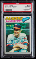 Baseball Cards:Singles (1970-Now), 1977 Topps Gaylord Perry #152 PSA Gem Mint 10....