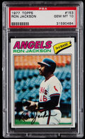 Baseball Cards:Singles (1970-Now), 1977 Topps Ron Jackson #153 PSA Gem Mint 10....
