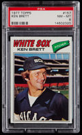 Baseball Cards:Singles (1970-Now), 1977 Topps Ken Brett #157 PSA Gem Mint 10....