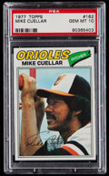 Baseball Cards:Singles (1970-Now), 1977 Topps Mike Cuellar #162 PSA Gem Mint 10 - Pop Three....