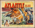 """Movie Posters:Adventure, Atlantis, the Lost Continent (MGM, 1961). Half Sheet (22"""" X 28"""").Adventure.. ..."""