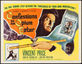 """Movie Posters:Exploitation, Confessions of an Opium Eater (Allied Artists, 1962). Half Sheet(22"""" X 28""""). Exploitation.. ..."""
