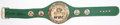 Boxing Collectibles:Autographs, Sylvester Stallone Signed Championship Belt....