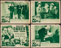 """Blondes and Blunders (Columbia, 1940). Lobby Card Set of 4 (11"""" X 14""""). Comedy. ... (Total: 4 Items)"""