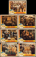 """Movie Posters:Comedy, Buck Privates (Universal, 1941). Lobby Cards (7) (11"""" X 14"""").Comedy.. ... (Total: 7 Items)"""