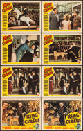 """Movie Posters:Drama, 18 Minutes (Astor Pictures, R-1943). Title Lobby Cards (2) &Lobby Cards (6) (11"""" X 14""""). Drama. Reissue Title: King of th...(Total: 8 Items)"""