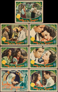 "Movie Posters:Romance, Lady of the Tropics (MGM, 1939). Title Lobby Card & Lobby Cards(6) (11"" X 14""). Romance.. ... (Total: 7 Items)"