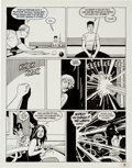 """Original Comic Art:Panel Pages, Jaime Hernandez Love and Rockets #30 """"Ninety-Three MillionMiles From the Sun"""" Page 15 Original Art (Fantagraphics..."""