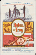 "Movie Posters:Adventure, Helen of Troy (Warner Brothers, 1956). One Sheet (27"" X 41"").Adventure.. ..."