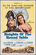 "Movie Posters:Adventure, Knights of the Round Table & Other Lot (MGM, R-1962). One Sheet(27"" X 41"") & Three Sheet (41"" X 79""). Adventure.. ... (Total:2 Items)"