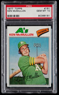 Baseball Cards:Singles (1970-Now), 1977 Topps Ken McMullen #181 PSA Gem Mint 10....