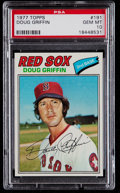 Baseball Cards:Singles (1970-Now), 1977 Topps Doug Griffin #191 PSA Gem Mint 10 - Pop Four....