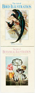 Books:Art & Architecture, [Natural History Printing] Lys de Bray. The Art of Botanical Illustration. [and:] Maureen Lambourne. The Art... (Total: 2 Items)