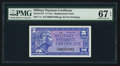Military Payment Certificates:Series 611, Series 611 5¢ Replacement PMG Superb Gem Unc 67 EPQ.. ...