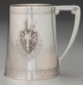 Silver Holloware, American:Cups, A Gorham Saxon Stag Pattern Coin Silver Cup, Providence,Rhode Island, designed 1855. Marks: (lion-anchor-G), ...