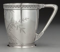 Silver Holloware, American:Cups, An American Aesthetic Movement Silver Cup, circa 1880. Marks:ENGLISH STERLING, 18. 3-3/8 inches high (8.6 cm). 5.37tro...