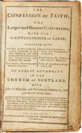 Books:Religion & Theology, [Religion & Theology]. The Confession of Faith; the Larger and Shorter Catechisms, with the Scripture-Proofs at La...