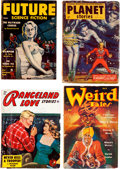 Pulps:Miscellaneous, Assorted Pulps Group (Various, 1952-54) Condition: Average VG+.... (Total: 4 Items)