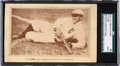 """Baseball Cards:Singles (Pre-1930), 1912 Ty Cobb Postcard """"World's Greatest Ballplayer..."""" SGCAuthentic - Only Two Graded Examples! ..."""
