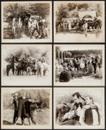 """Movie Posters:Western, Unconquered Bandit & Other Lot (William Steiner, 1935). Photos (10) (8"""" X 10"""") & Printing Plates (2) (3.75"""" X 4.75""""). Wester... (Total: 12 Items)"""